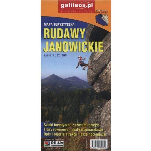 Mapa turystyczna - Rudawy Janowickie 1:25 000 - Praca zbiorowa, Plan