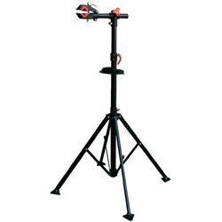 Stojak do montażu roweru, Eufab Profi 16414, wysokość 1150 - 1400 mm, metalowy, czarny, 16414