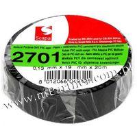 Scapa Taśma izolacyjna pcv 2701 19mm 20m czarna