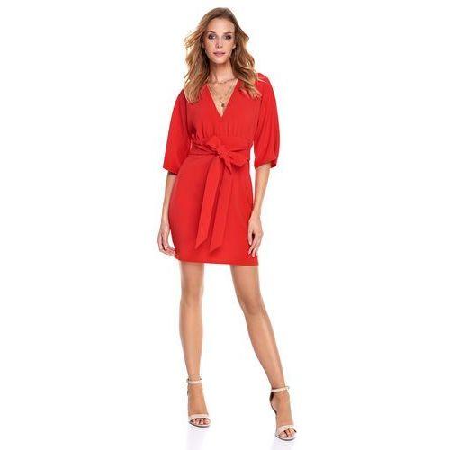 Sukienka Silia w kolorze czerwonym