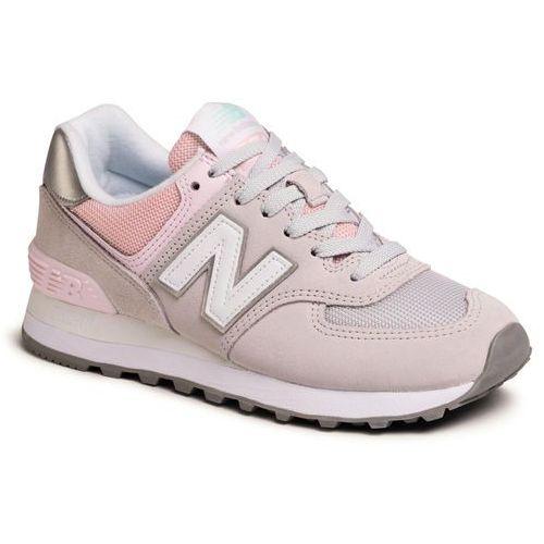 Sneakersy - wl574sot beżowy marki New balance