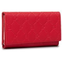 Duży Portfel Damski PIERRE CARDIN - P79 455 Czerwony