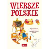 Wiersze polskie- bezpłatny odbiór zamówień w Krakowie (płatność gotówką lub kartą)., oprawa twarda