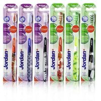 individual clean szczoteczka do zębów medium x 2 sztuki marki Jordan