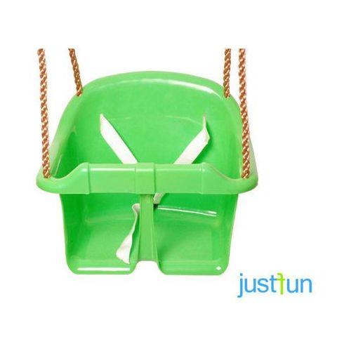 Huśtawka kubełkowa eco - jasnozielony marki Just fun