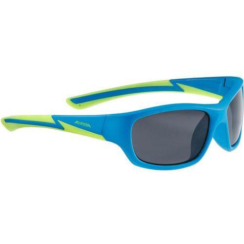 Alpina flexxy youth okulary rowerowe zielony/niebieski 2018 okulary przeciwsłoneczne dla dzieci