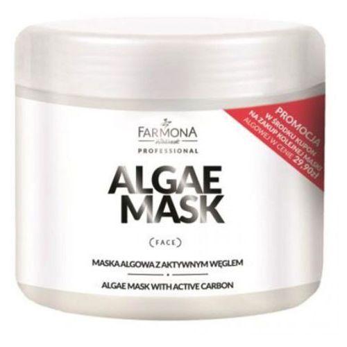 Algae mask with active carbon maska algowa z aktywnym węglem Farmona - Ekstra rabat