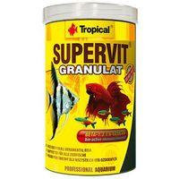 Tropical supervit granulat - pokarm granulowany dla rybek 250ml/138g