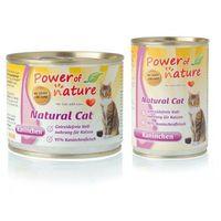 Power of nature natural cat z królikiem, waga: 400g -- ekspresowa wysyłka --