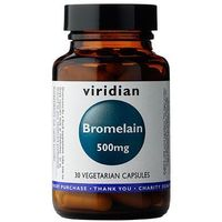 Bromelaina 500 mg (30 kaps.) Viridian (5060003594758)