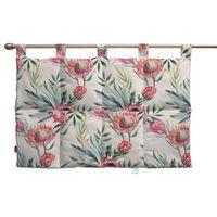 Dekoria Wezgłowie na szelkach, różowe kwiaty na kremowym tle, 90 x 67 cm, New Art