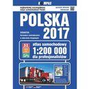 Atlas samochodowy Polski 1:200 000 / 2017 (opr. twarda)