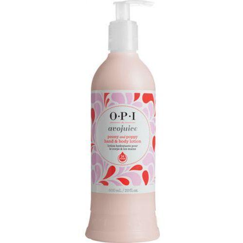 Avojuice peony & poppy hand & body lotion balsam do dłoni i ciała - peonia i mak (600 ml) Opi - Bombowy upust