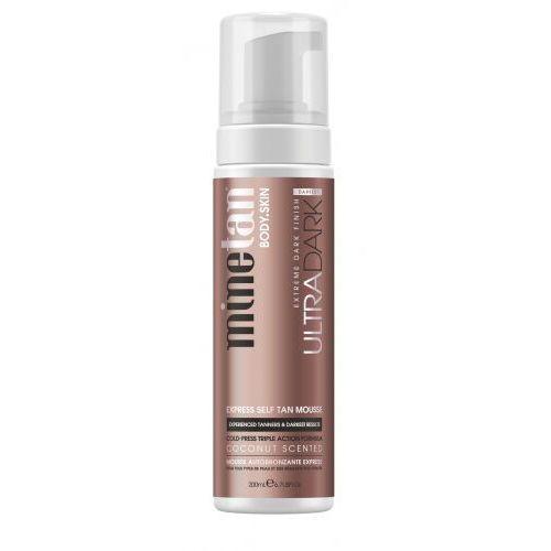 Minetan ultra dark express self tan mousse samoopalacz 200 ml dla kobiet - Promocyjna cena