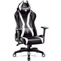 Fotel DIABLO CHAIRS X-One Horn (L) Czarno-biały