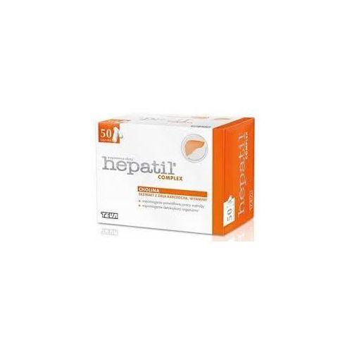 HEPATIL COMPLEX x 50 kapsułek