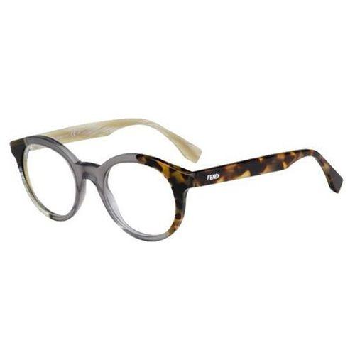 Okulary korekcyjne ff 0067 by the way ner Fendi