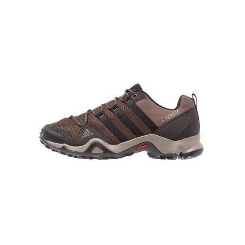 Adidas Performance TERREX AX2R Półbuty trekkingowe brown/core black/night brown