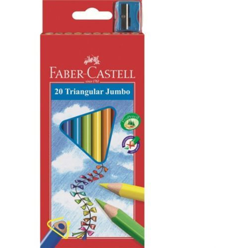 Faber castell Kredki jumbo op.20 kolorów