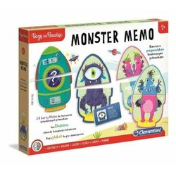 Clementoni Gra monster memo
