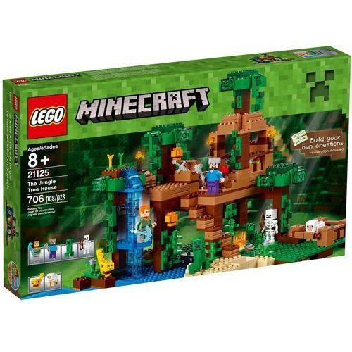 21125 - DOMEK NA DRZEWIE W DŻUNGLI The Jungle Tree House- KLOCKI LEGO MINECRAFT