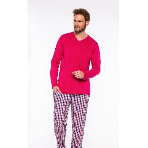 Piżama męska Kewin 501 melanż/szary, kolor szary