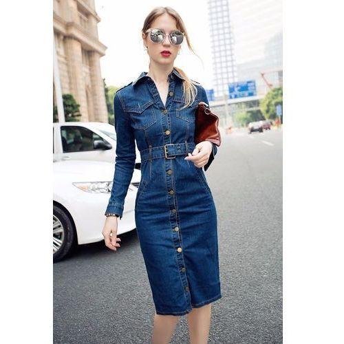 a8a0e6ad48 Sukienka jeansowa KSENIJA - sklep SkladBlawatny.pl