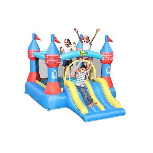 Dmuchany zamek happy hop z podwójną zjeżdżalnią marki Happyhop