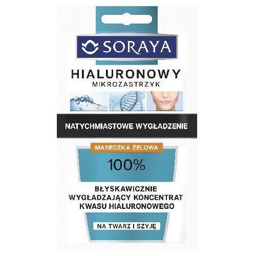 Hyaluronic microinjection maseczka intensywnie liftingująca z kwasem hialuronowym (suitable for face and neck) 2 x 5 ml Soraya