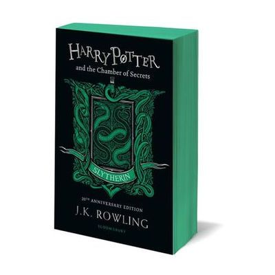 Harry Potter and the Chamber of Secrets: Slytherin Edition Rowling Joanne K. (9781408898123)