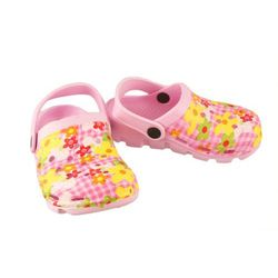 AXIM 2KL7102 różowy, croksy klapki dziecięce rozmiary 24-29 - Różowy, kolor różowy