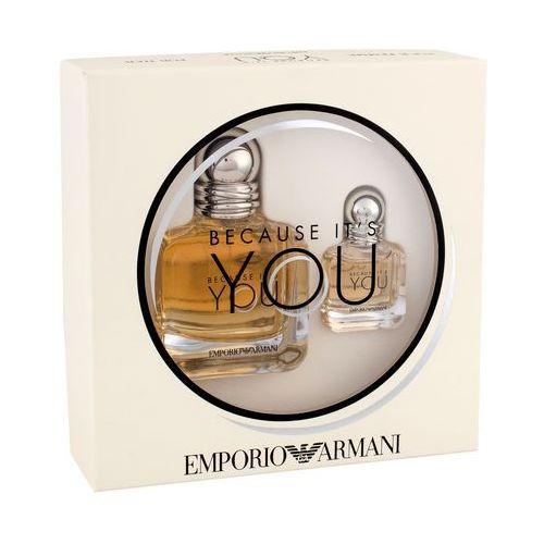 Giorgio Armani Emporio Armani Because It´s You zestaw 50 ml dla kobiet (3614272238398)