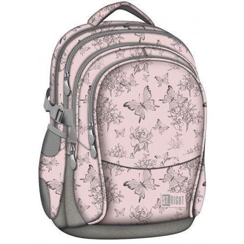 ST.RIGHT Plecak szkolny 4 komory Butterflies 2019 (5903235622786)