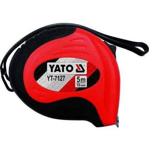 Miara zwijana 5 m x 19 mm Yato YT-7127 - ZYSKAJ RABAT 30 ZŁ, YT-7127 (2448505)