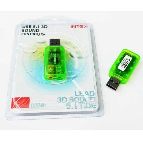 Karta Muzyczna USB 5.1 3D Intex MINI (armepol)