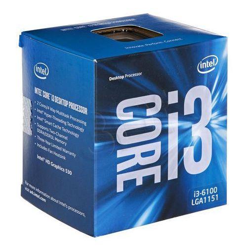Intel Core i3-6100 3,7GHz BOX, BX80662I36100