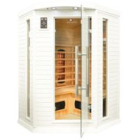 Home&garden Sauna infrared z koloroterapią dh2c gh white (5902425322451)