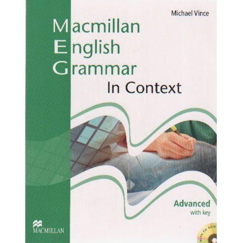Macmillan English Grammar in context advanced with key (240 str.)