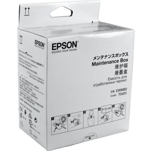 Epson maintenance box T04D1, EWMB2, C13T04D100, C13T04D198