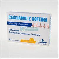Cardiamid z kofeina, pastyl, do ssania, sm.cytrusowy, 8 szt (5900161003719)