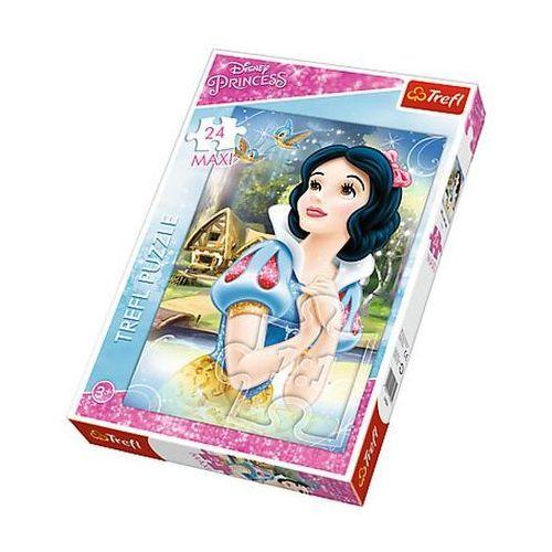Trefl Puzzle 14234 maxi księżniczki rozmarzona śnieżka (24 elementy)