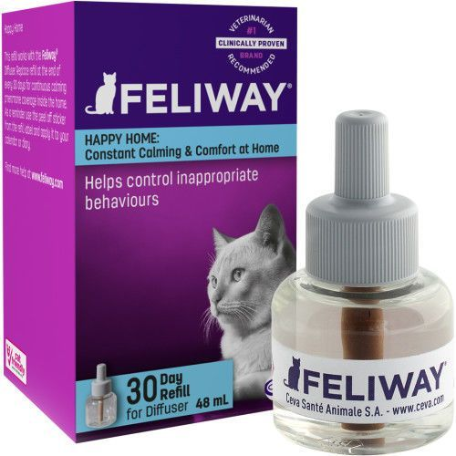 Feliway Feromony kojące dla kotów wkład zapasowy 48ml