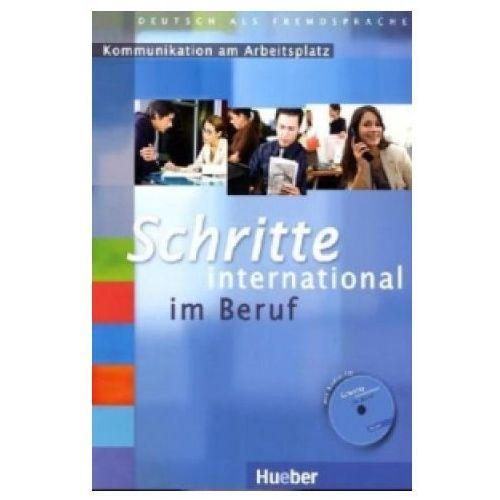 Schritte International Im Beruf Kommunikation Am Arbeitsplatz (Ćwiczenia z Płytą Audio CD) (9783196818512)