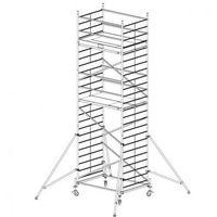 B2b partner Rusztowanie ruchome aluminiowe protec xxl 7,3 m