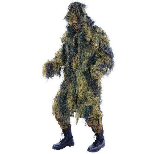 strój maskujący maskowanie ghillie suit parka woodland marki Mil-tec