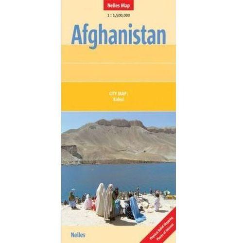 Afganistan mapa 1:1 500 000 Nelles, oprawa twarda