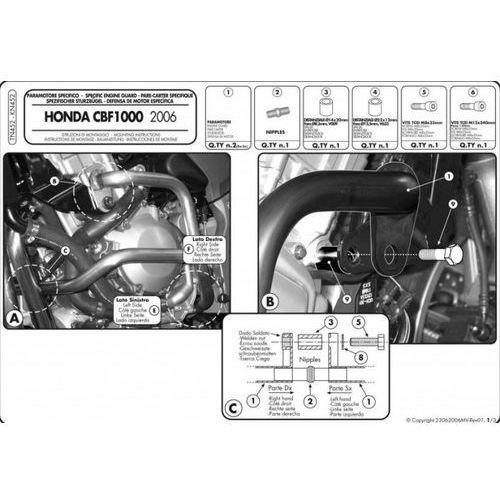 Kappa KN452 Gmole HONDA CBF 1000 / ABS (06 09)