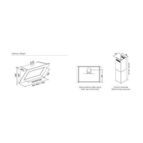 quasar 90 falmec ceny z gazetki opinie sklep internetowy. Black Bedroom Furniture Sets. Home Design Ideas