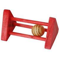 Ciekawa, drewniana zabawka dla gryzoni marki Hp small animal