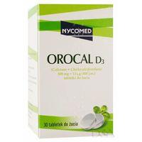 Tabletki Orocal D3 (smak miętowy) 30 tabl.